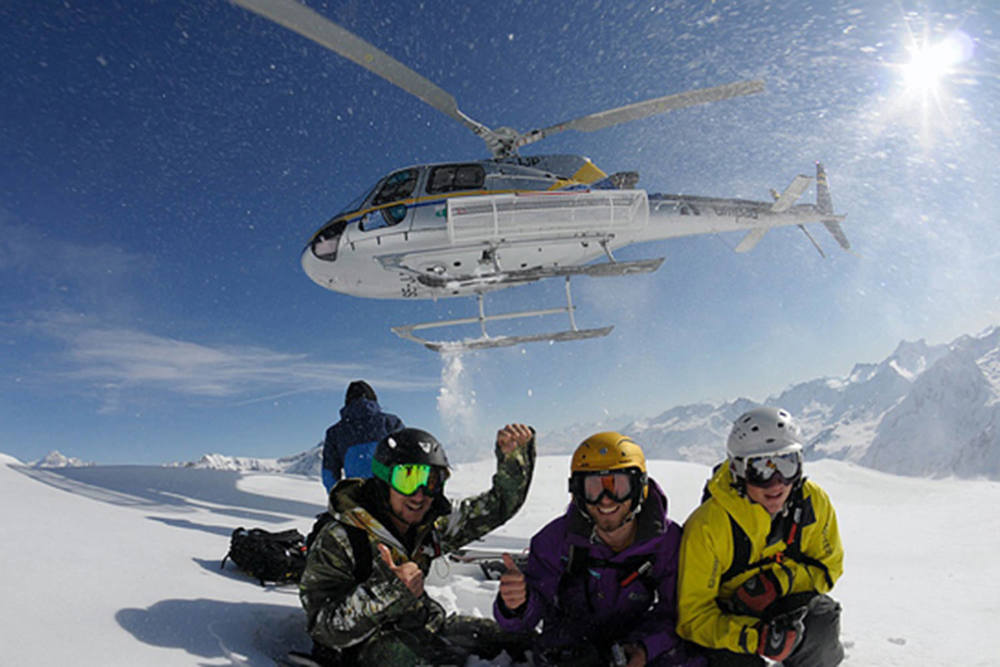 Heli Ski Worldwide Tours