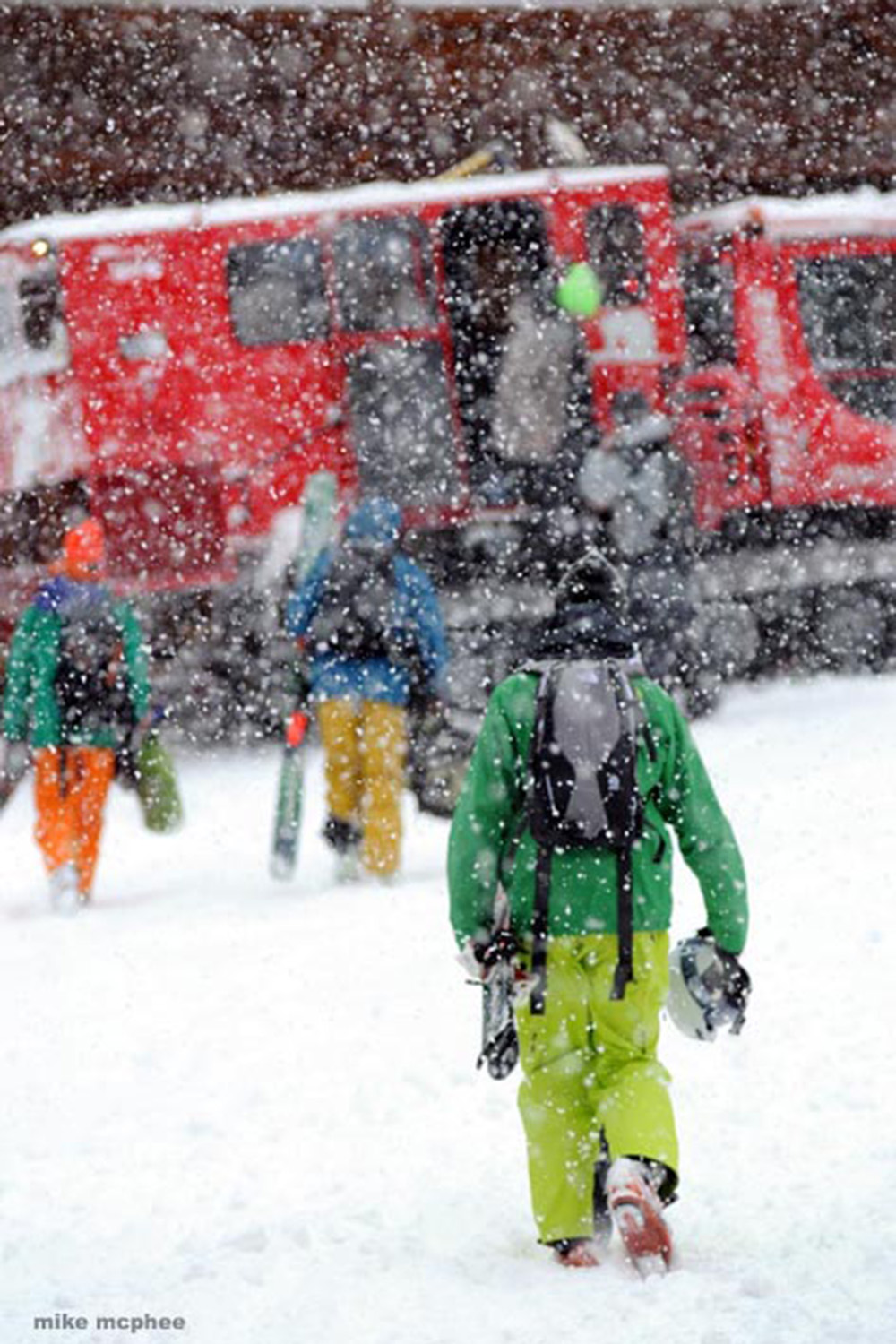 Cat Skiing Advantages - Weather