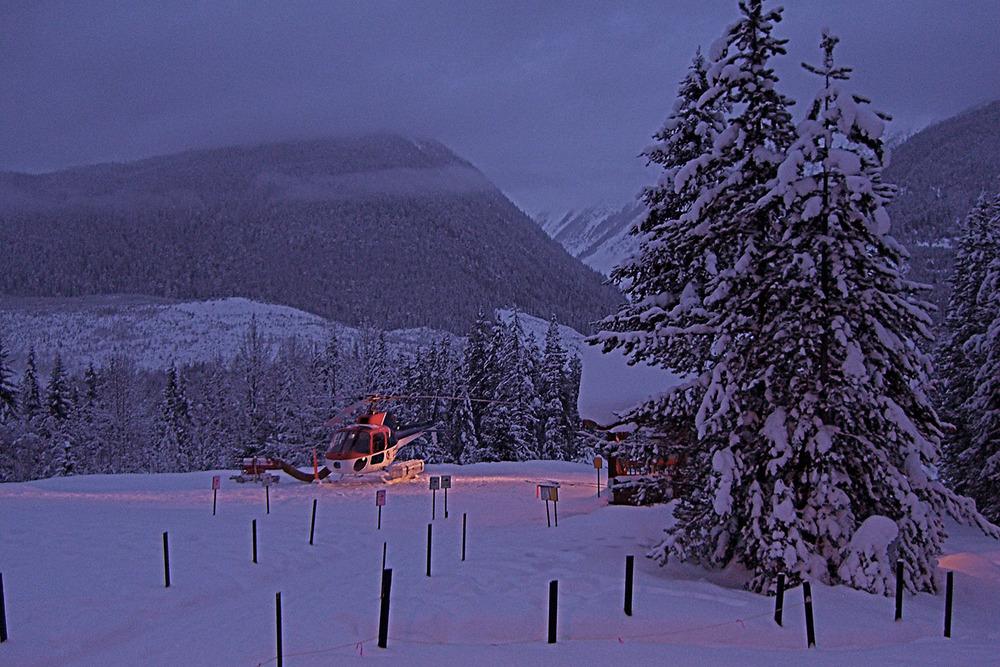 Total Heliski Whistler Heli Ski Tour