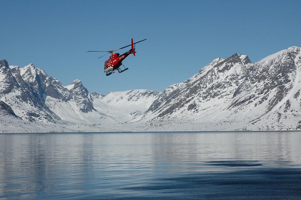 Heli Skiing Greenland