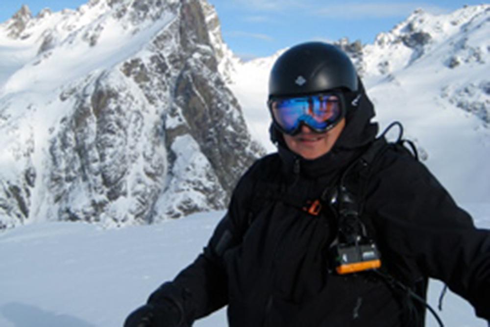 Phenomenal Heli Ski Landscape