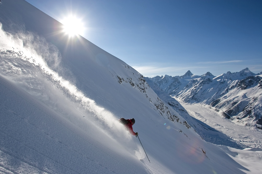 Skiing Only Accessible by Helicopter, Or By Foot   We Ski Where There are No Lift Lines   About Heli Skiing