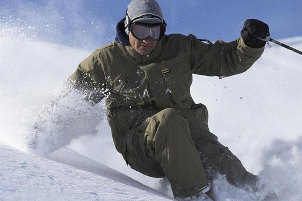 Graham Bell - Heli Ski Legend