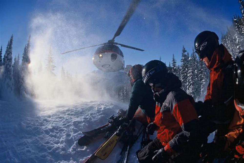 Heli Skiing Safety Information from Total Heliski