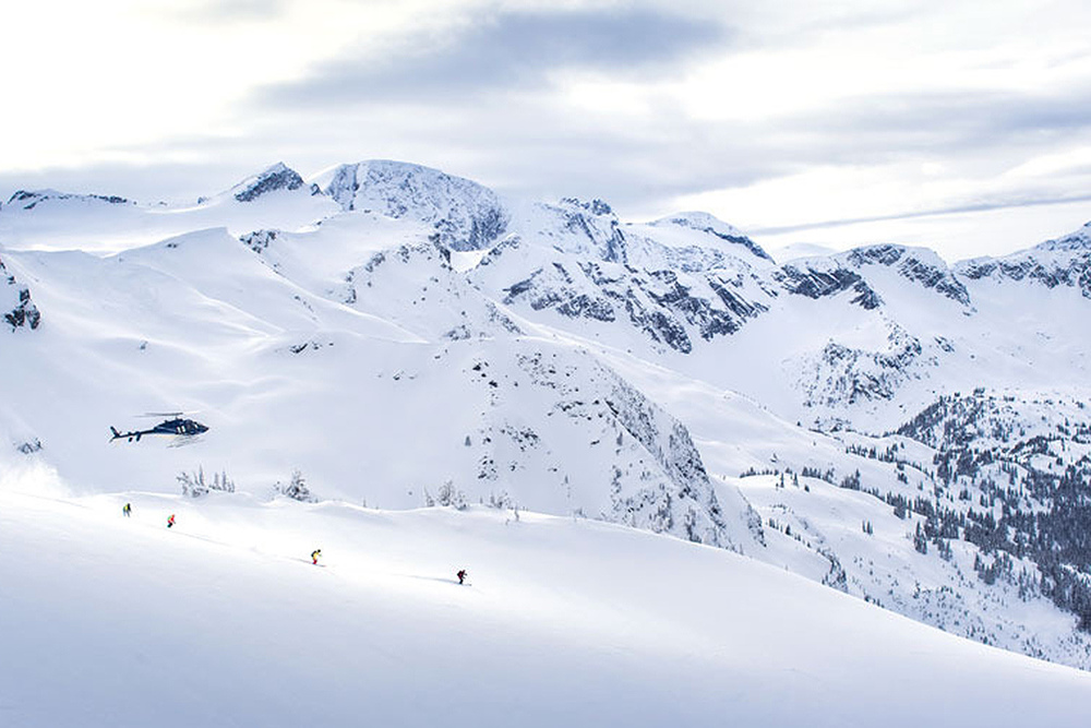 Over 200,000 acres of terrain ready to be skied.