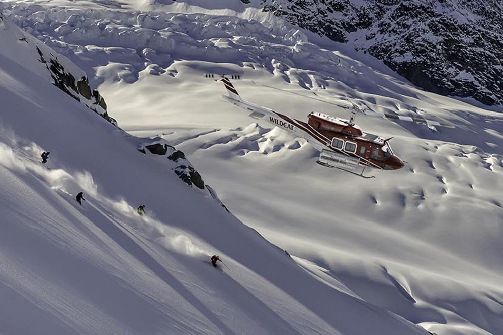 With the Private Package, ski on your very own private helicopter.
