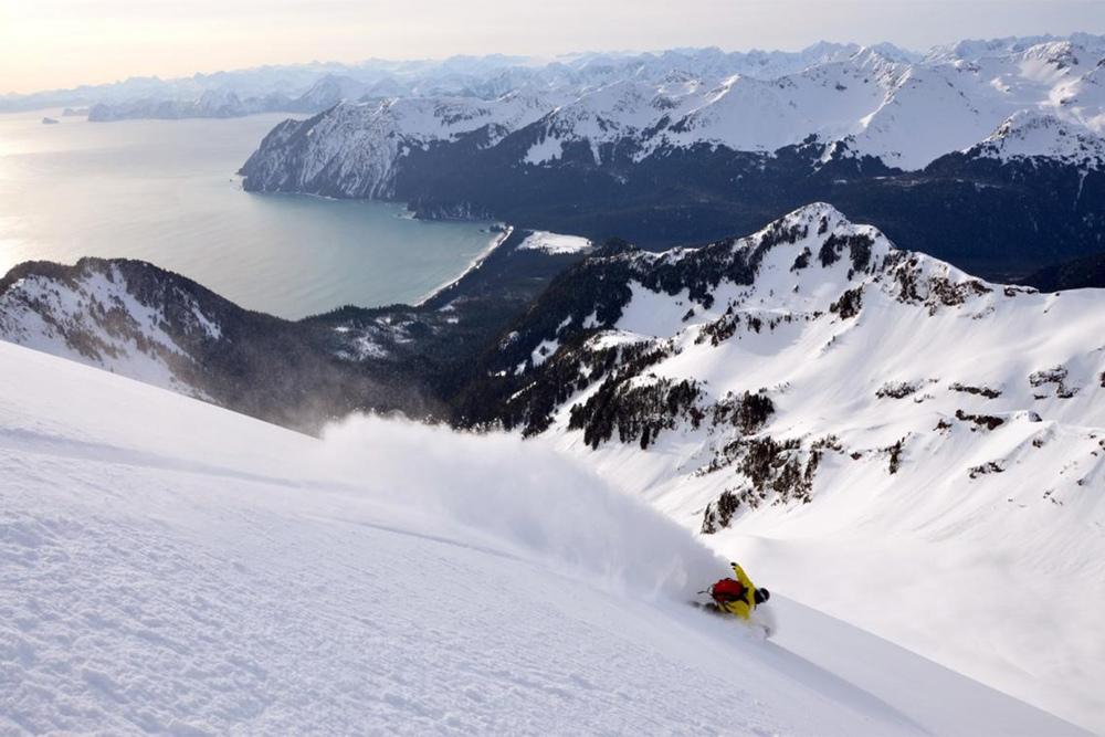 Alaskan powder.