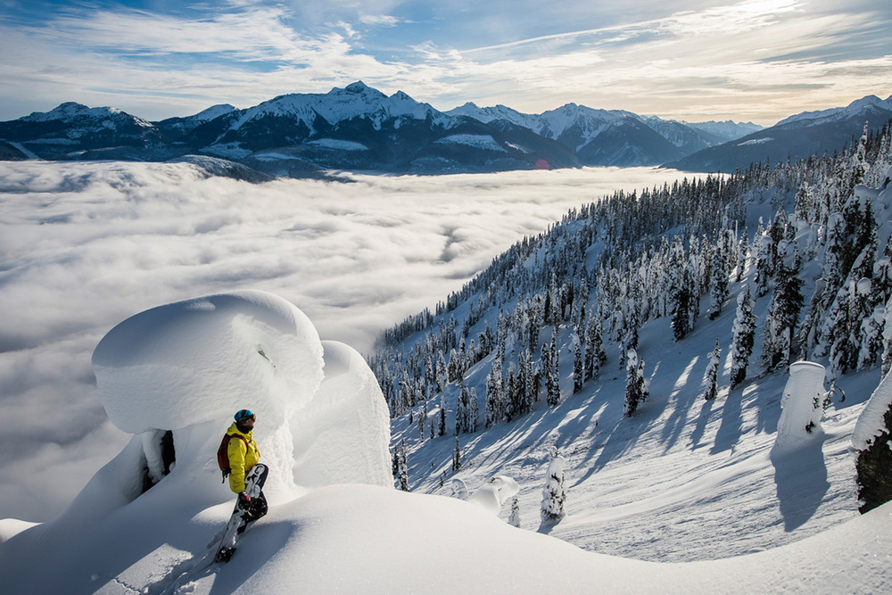 Monashee Mountains Heli Ski Destination