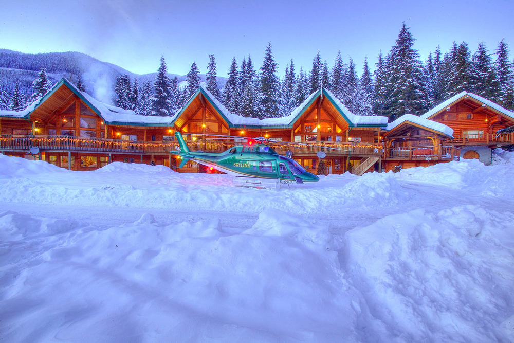 The Yellow Cedar Lodge will be your home for the week.