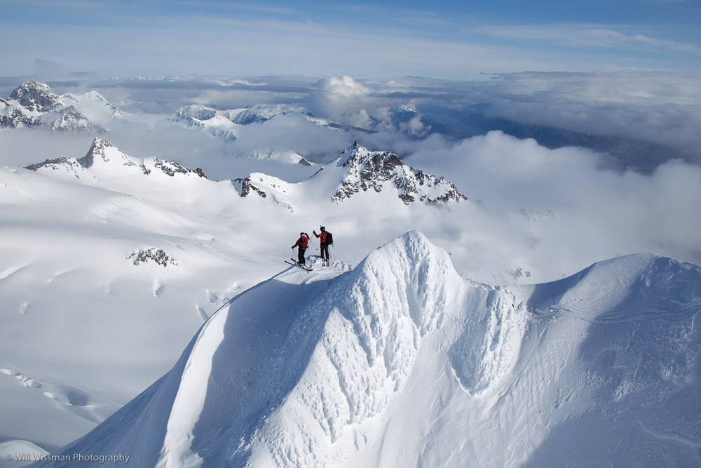 On Top of Haines, Alaska