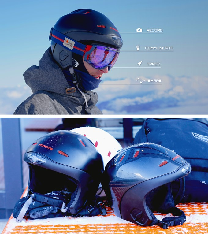 World's First Smart Helmet