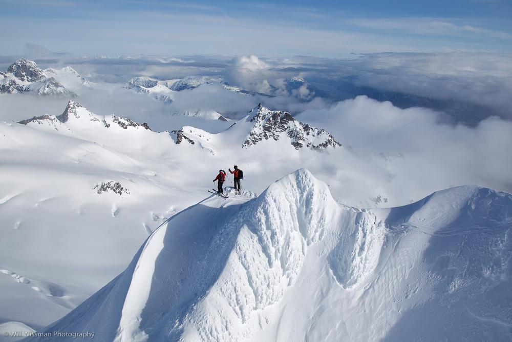 Heli Skiing Awesome Alaska
