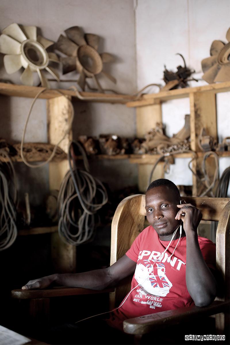 Garagiste de Ouaga