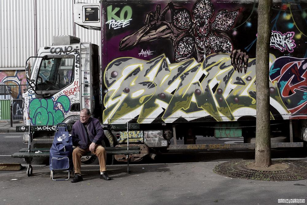 Graffiti dangereux