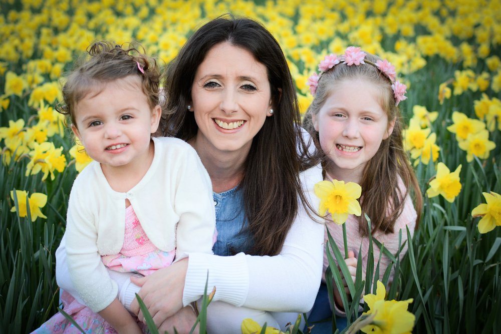 Daffodil Days.   - Last year I took out this lovely family for photoshoot as they had been through a really unexpectedly traumatic time.  I have found that when people are struggling a lot of the time we don't know what to do or what to say to help make things better. I heard someone once say 'Just use whats in your hand to bless others with' - this then set me thinking.....The thing most often in my hand is my camera. (or chocolate actually if I am really honest - but I'm not sharing that!)This then sparked an idea.  Why not bless families with a free photoshoot to boost them up when it feels like the whole world is against them.Now this lovely family call themselves 'Team Daffodil' because their hard times came in the spring and Mum is determined to bloom each year, getting stronger and shining brighter with her special girls, just like the daffodils do. We talked about the idea of me starting a new initiative where each spring time I offer one family shoot to someone who needs a boost!It would be lovely if you would nominate someone  ( http://www.helenraynerphotography.com/read-me/ )who you think would really benefit from this and then I could spend some time with them in the spring time helping them to make some happier memories. Greg from GS Photos  (http://www.gsphotos.co.uk)  in Gerrards Cross is going to pick the name out of the hat on the Wednesday the 21st March and has offered his services with any printing after the family shoot. Can't wait to get out there this spring time and see some smiling faces!