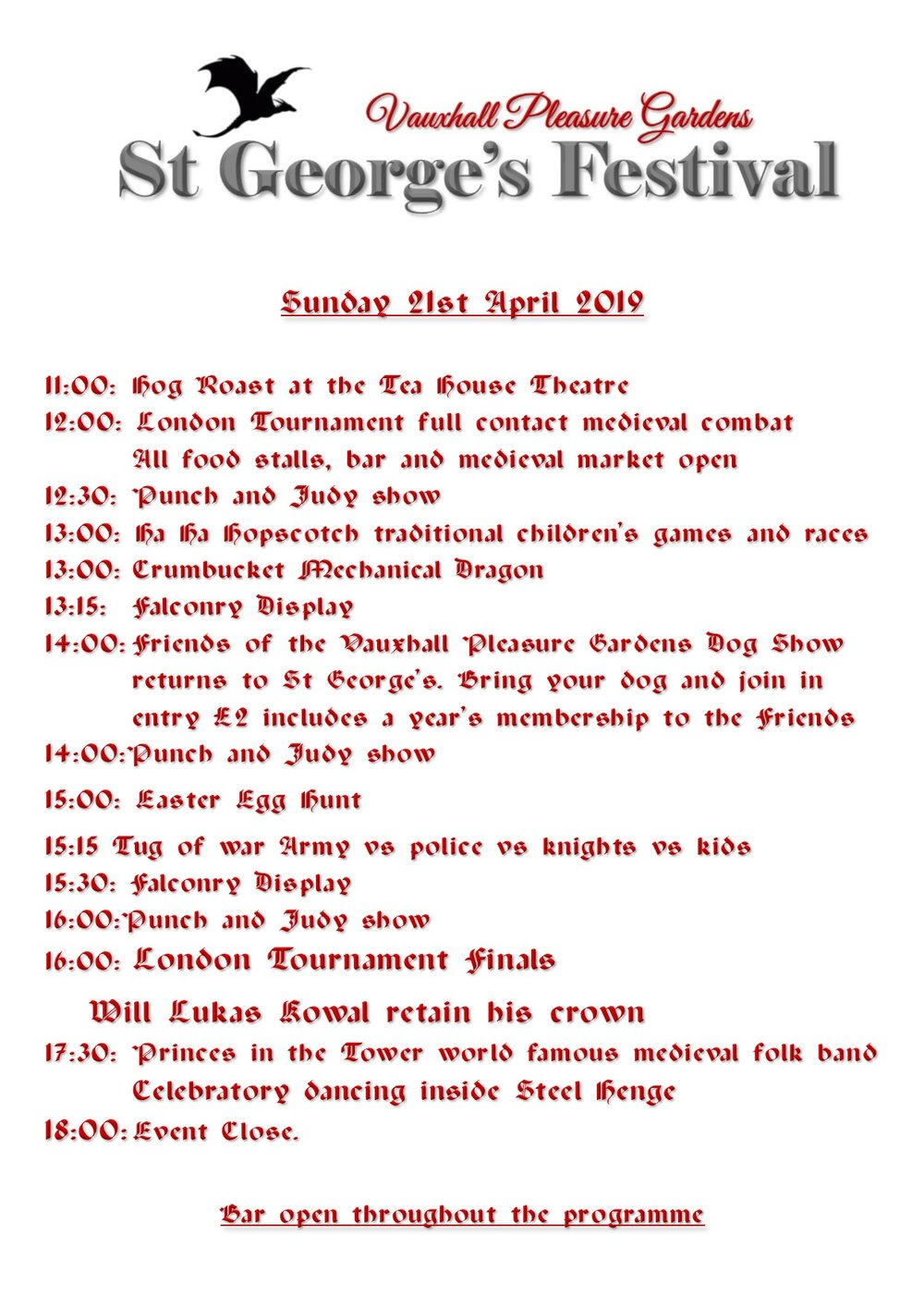 Running Order St George 2019 sunday.jpg