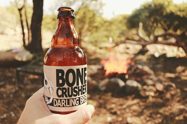 "Fire and hyaena beer? It must be my birthday. ""Inspired by the spotted hyaena - a misunderstood creature"" @DarlingBrew gets it . . . . . . #craftbeer  #craftbeerlover #darlingbrewery #craftbeerza #craftbeersouthafrica #hyaena #hyena #campfirecooking #campfire🔥 #campfires #braaitime #braaivibes #barbecues #birthday #fathersday2018 #fathersday"