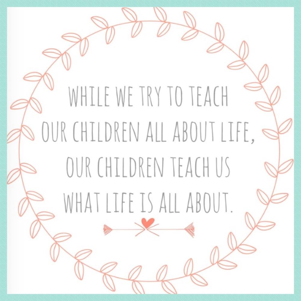 What children teach us
