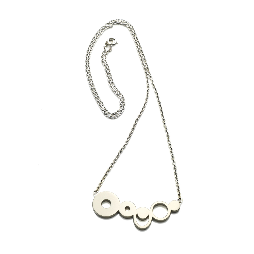 Fish River Necklace 18K white gold 760 EUR