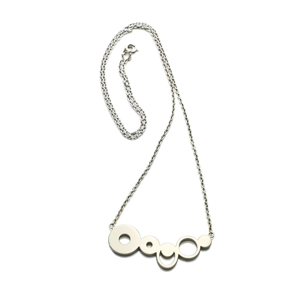 Fish River Necklace 18 K white gold 2,624 LTL / 760 EUR