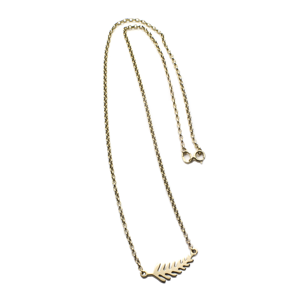 Collier Yellow gold 14 K