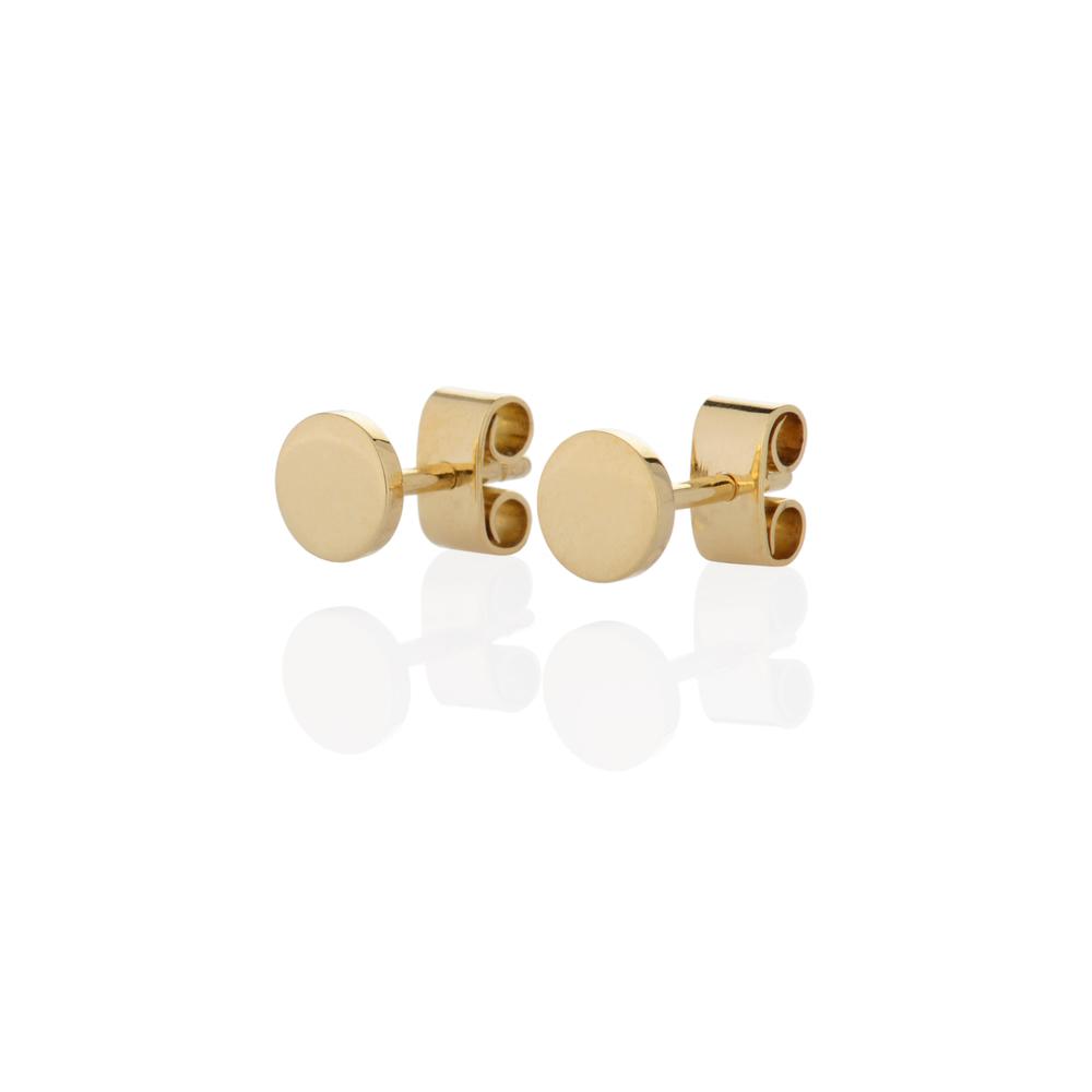Earrings 18 K yellow gold 200 EUR