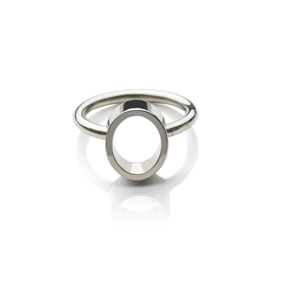 Ring 'Atacama' White gold 18 K Size 16.50 490 eur