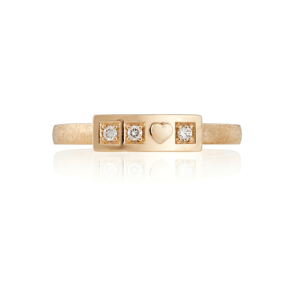 STORGE 890 eur (VAT incl) Yellow gold 18K  Brilliant cut diamonds total weight 0.045 ct