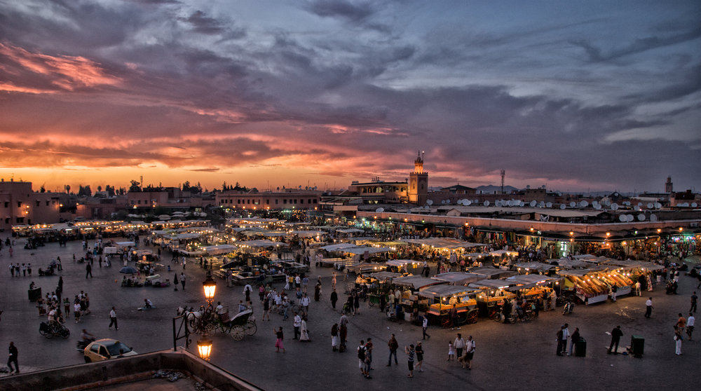 Jemaa el Fnaa square, Marrakech