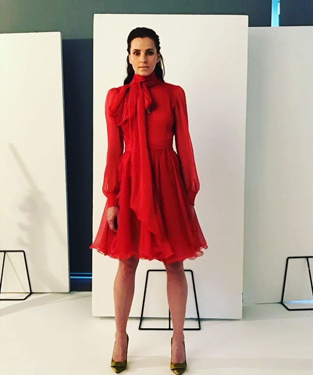 #iocouture Red Passion!!! Resort S19 available at @liviagregshowroom_milano  #style #styles #stylist #styleblogger #follow #followme #follower #followers #following #followfollowfollow #follow4followback #followfollow #fashion #fashionblogger #fashiondesigner #instagram #instalike #instagood #iocouture #picoftheday #photooftheday #love #awesome #amazing #cool #mood #beautiful