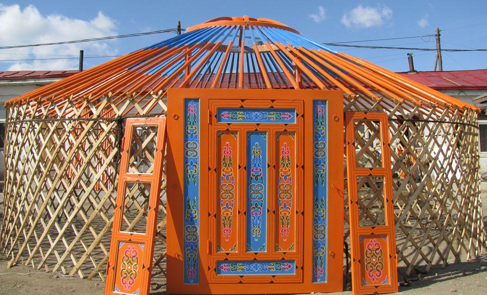 Multi Color Orange/Blue (traditional)