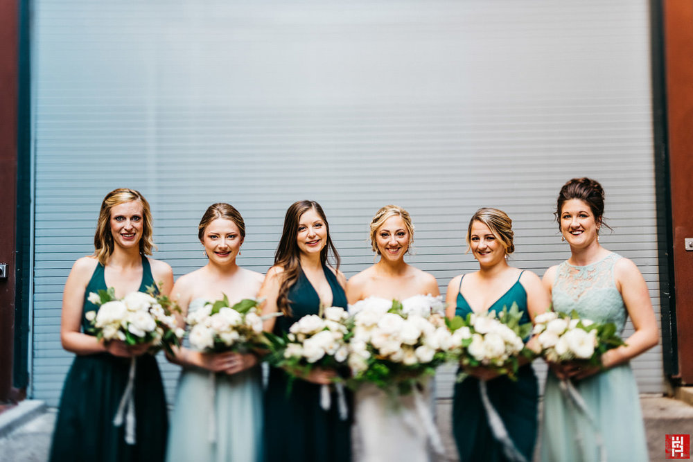 068-bridal-party-portrait-bridesmaids-bouquet-old-forest-farm-indianapolis-indiana-urban-modern-wedding-tilt-shift.jpg