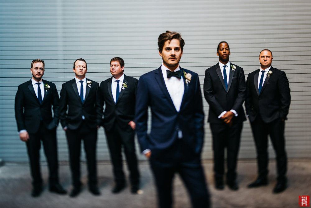074-groom-groomsmen-tilt-shift-dramatic-urban-modern-phil-bowers-indianapolis-wedding.jpg