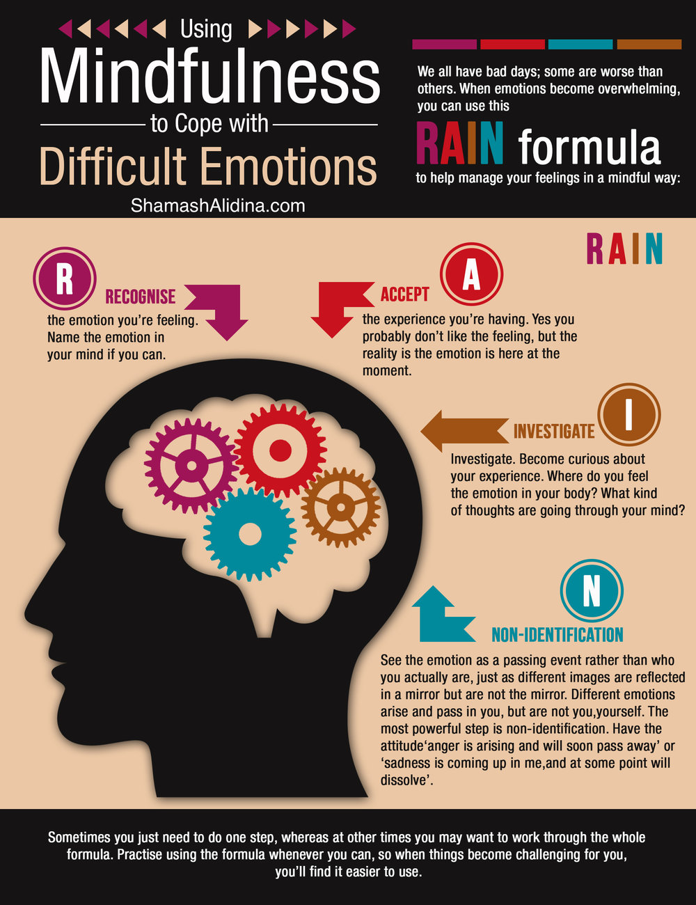 how to not feel emotions