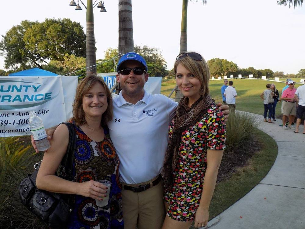 Michele Hoover, Brent Stokes, and Erica Castner