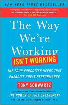 Tony Schwartz, The Way Were working it's working, Erica Castner