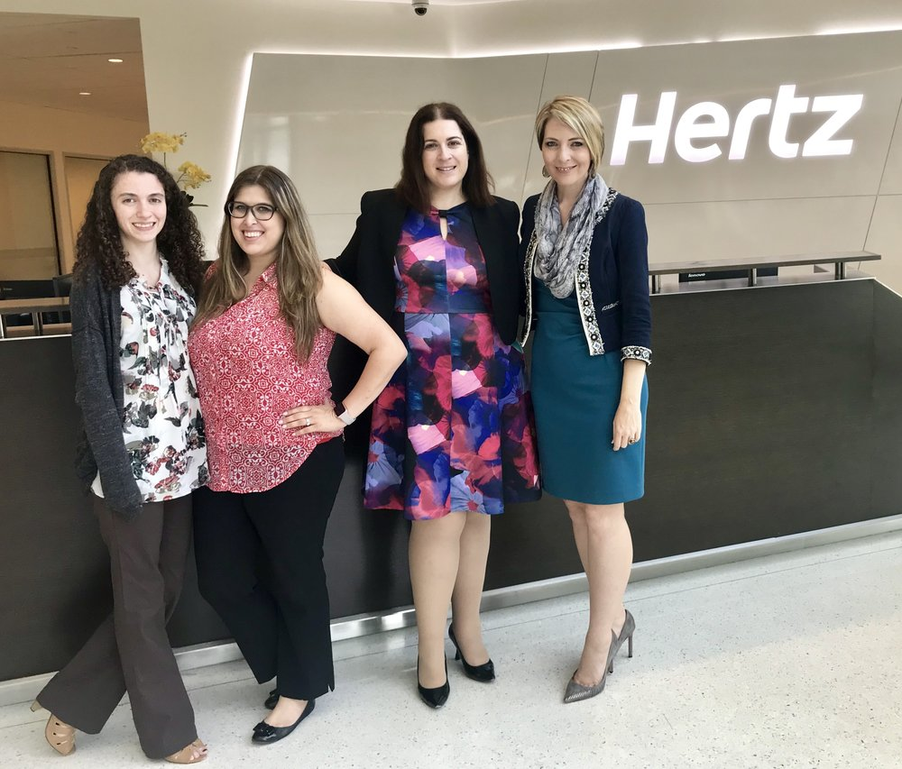 What an excited day to speak to the Hertz Corporation Women's Employee Resource Group at their headquarters in Estero on May 22, 2018.