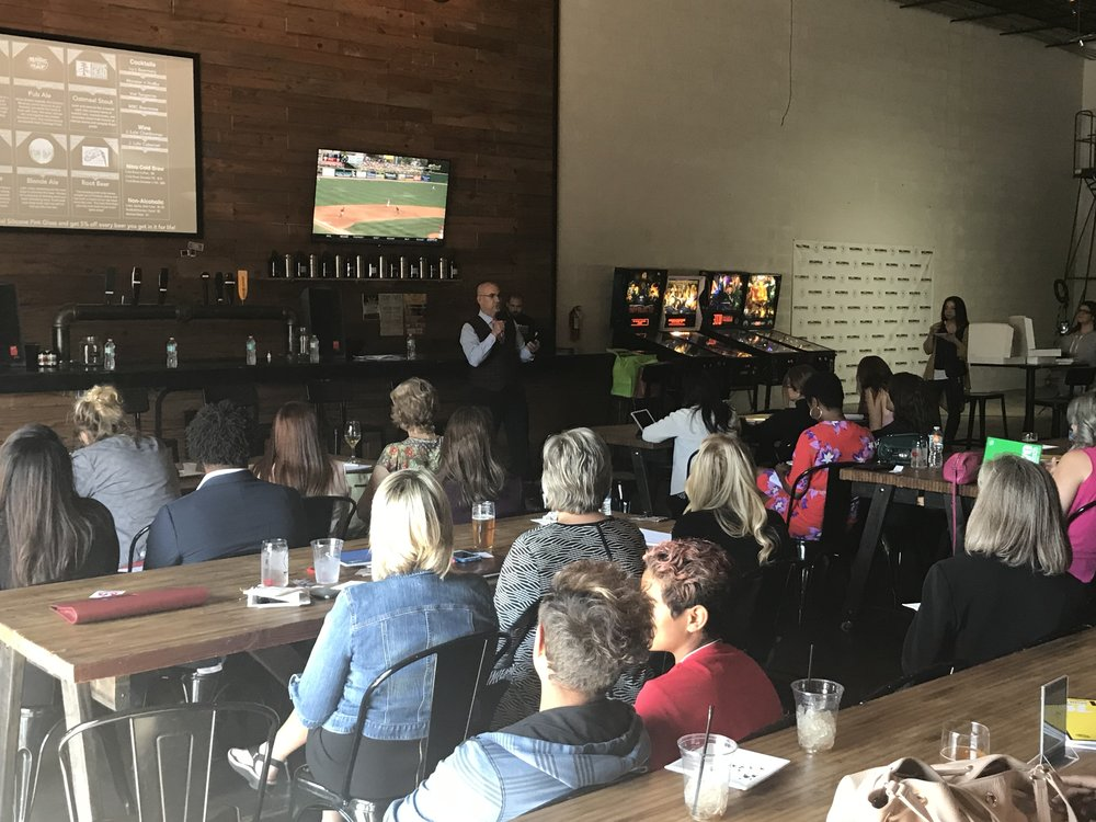 Expand Your Presence event at Millennial Brewing in Fort Myers, FL on March 22, 2018.