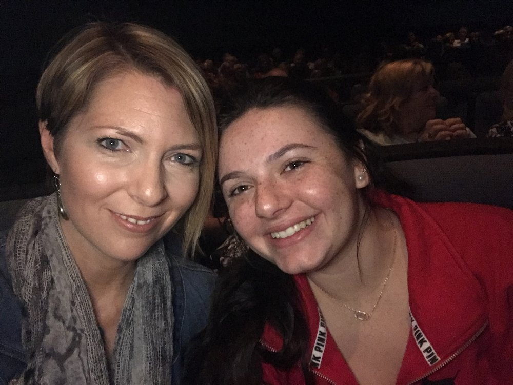 "Erica and Brooke Castner at the News-Press Media Groups ""Insider"" vieiwing of ""The Post"" on February 22, 2018."