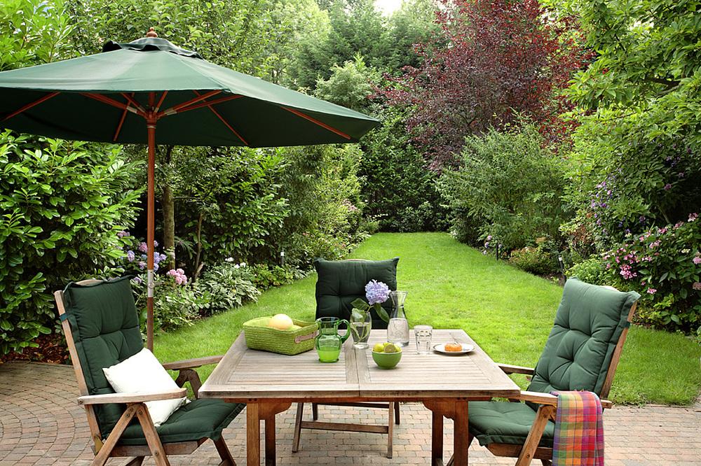 Mały ogród w Amsterdamie