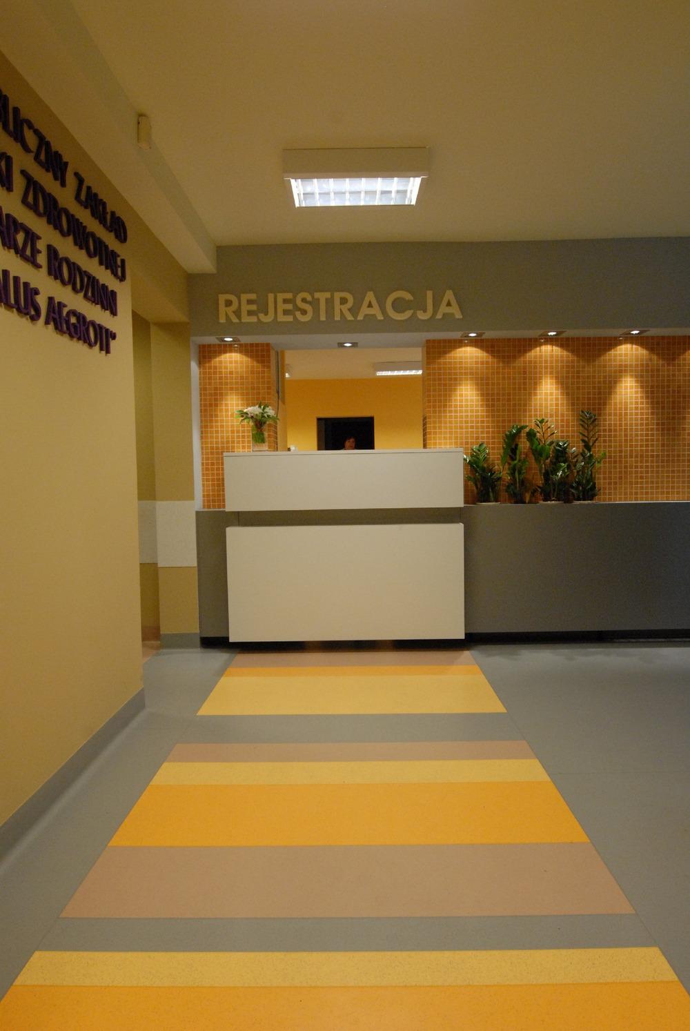 Projekt rejestracji w przychodni
