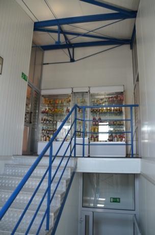 Wejście do biur - PRZED