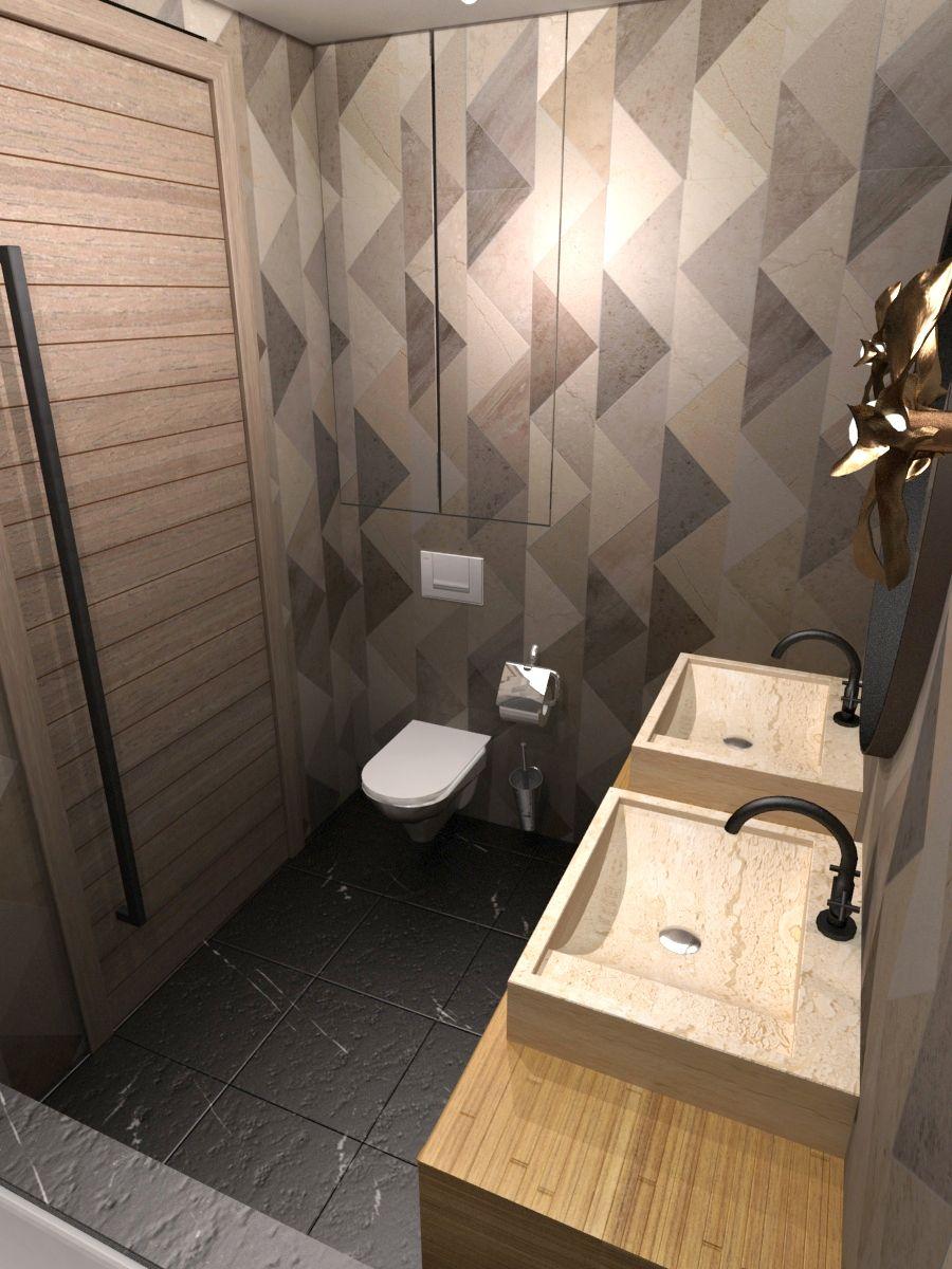 Łazienka z trójkątnych płytek.jpg