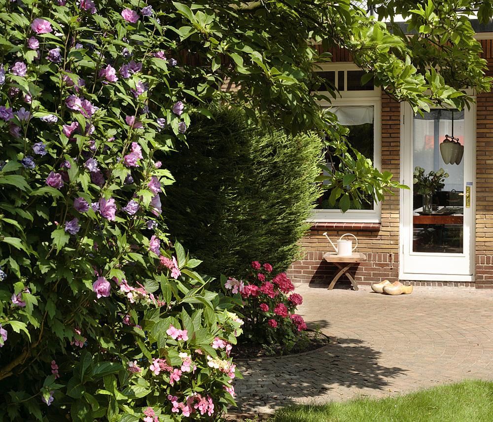 Wyjście na taras i ogród