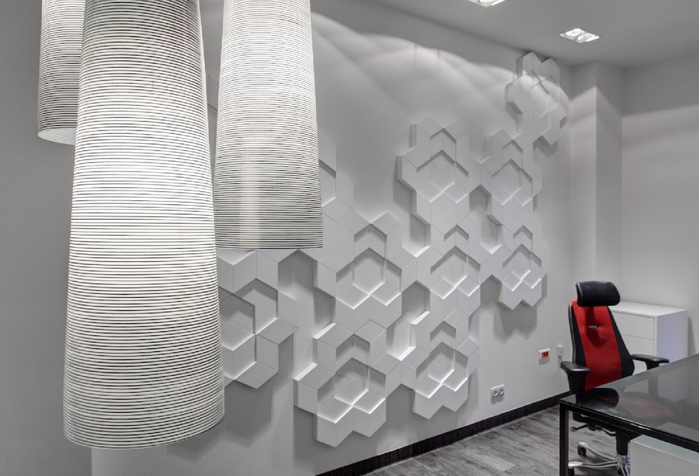 Nowoczensny monochromatyczny gabinet wlasciciela firmy.jpg