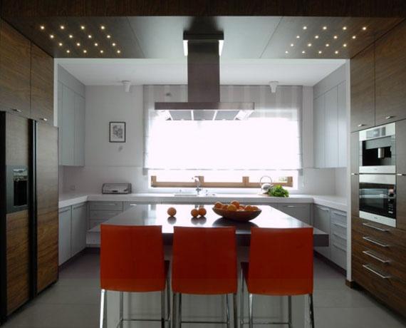 Projekt kuchni dla dużej rodziny