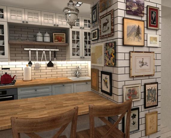 Kuchnia w stylu vintage country