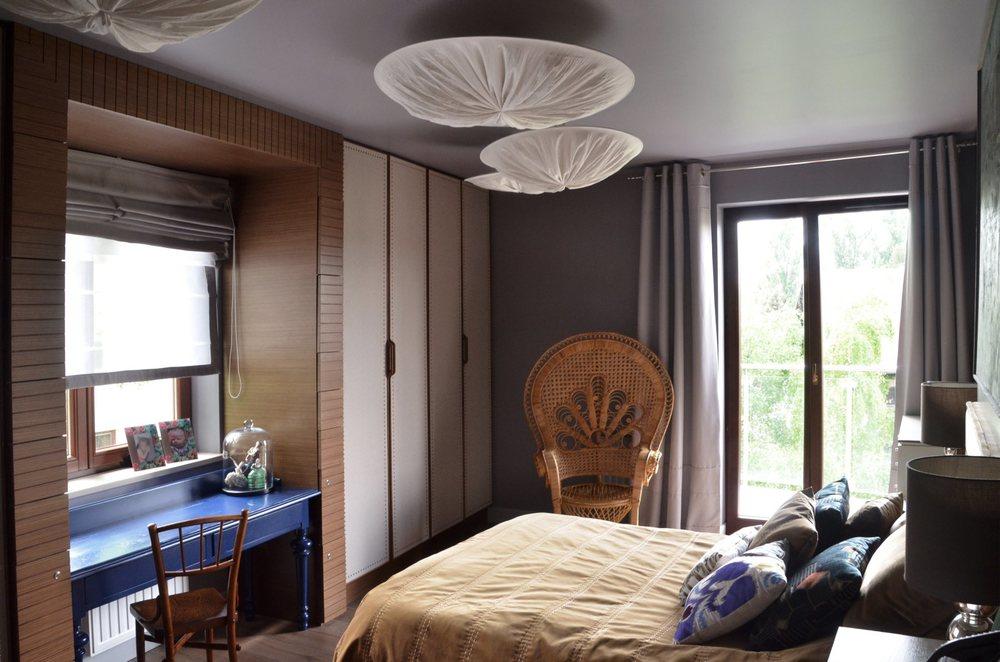 Wnętrze oryginalnej sypialni