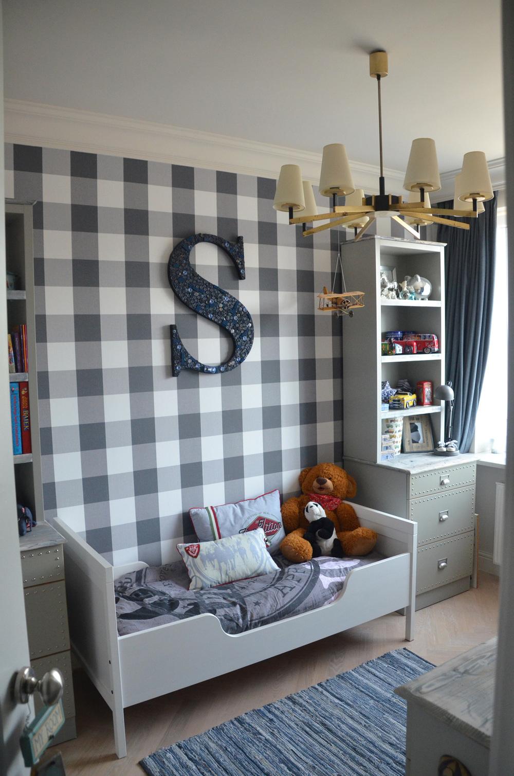 Projekt pokoju chłopca