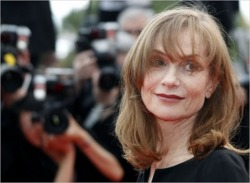 I love how beautiful and classic Isabelle Huppert is and I loved her in I Heart Huckabees. I hope that I look half as good as she does when and if I get to be her age. Such a beauty!